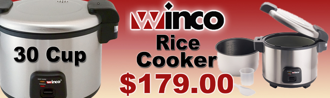 Winco Rice Cooker